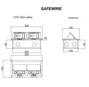 Safewire HTD-1602