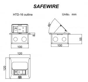Safewire HTD-16/16L