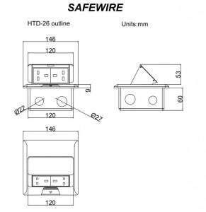 Safewire HTD-26/26L