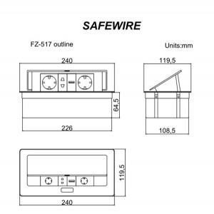 Safewire FZ-517-S
