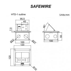 Safewire HTD-1/1L