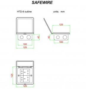 safewire HTD-8/8P