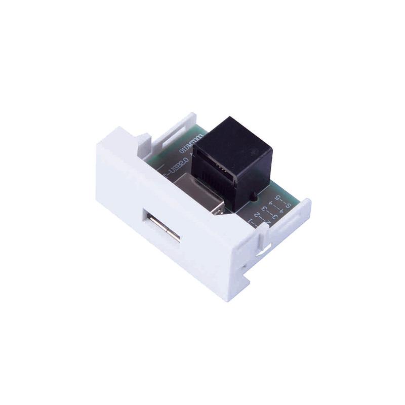 2017 Latest Design Hdmi Usb Pop Up Box - M-DMT-USB2.0A-RJ45 – Safewire Electric Featured Image