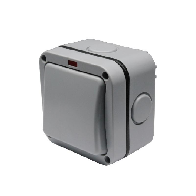 Safewire 901ALF 1 gang switch waterproof box