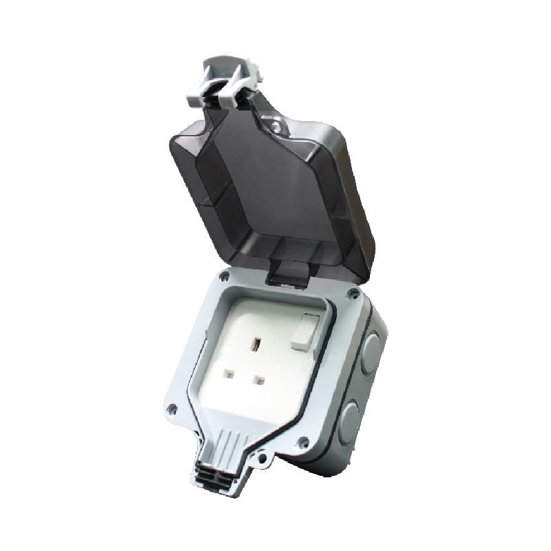 Safewire 913SPF 1 gang 13A waterproof switch box
