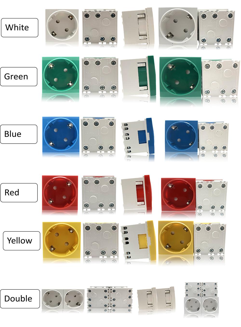 Safewire Datasheet 45 type  Safety shutter multi-sockets XJY-QB-35-1-2-3 M200505-4