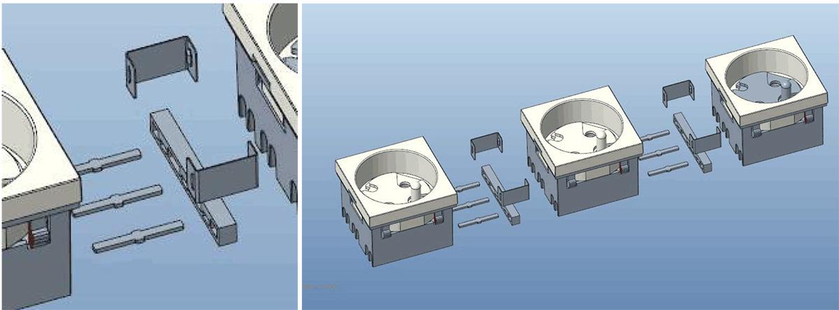Safewire Datasheet 45 type  Safety shutter multi-sockets XJY-QB-45-1-2-3 M191227-8