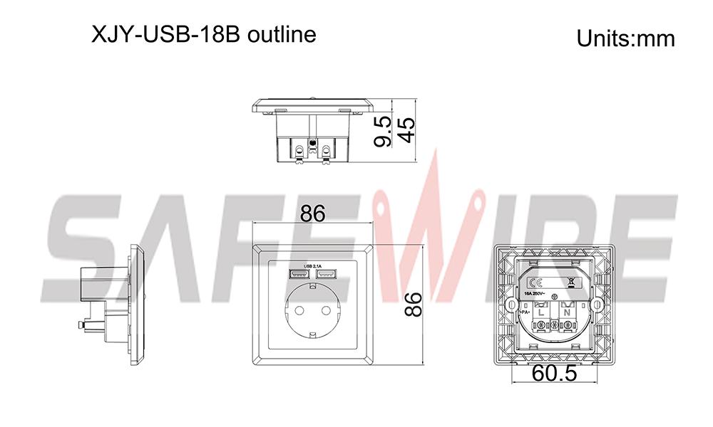 XJY-USB-18B